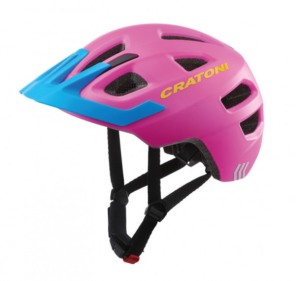 Cratoni Maxster Pro | pink-blue matt | S-M