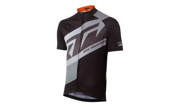 KTM Factory Line Renntrikot black/grey Gr. XL