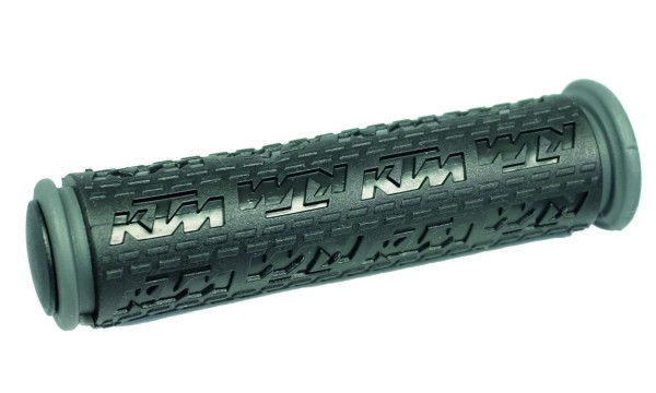 KTM Griffe KTM Logo schwarz Gummigriff