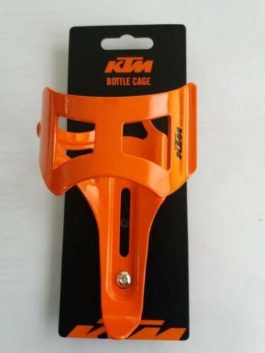 KTM Trinkflaschenhalter Seite orange Glanz Alu 36g