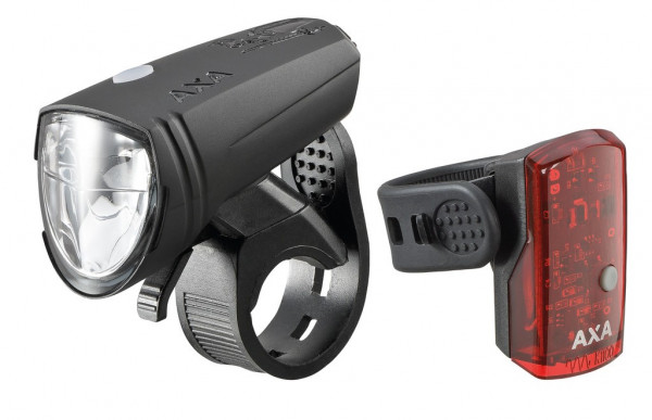 Batterielampen-Set AXA GREENLINE 25 Scheinwerfer