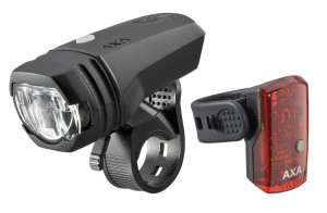 LED-Akkuscheinw. AXA GreenLine 50 Set
