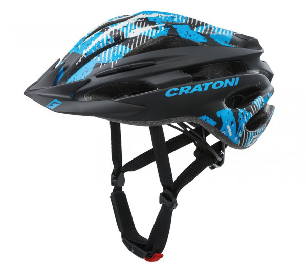 Cratoni Pacer | black-blue matt | S-M